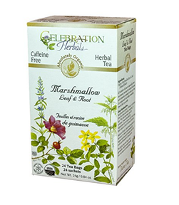 Lady of Lyme: Supplements I Love - Marshmallow Root Tea